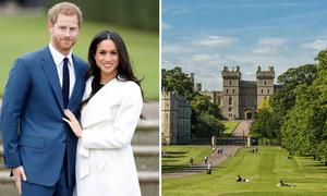 Thị trấn hút khách nhất nước Anh nhờ Hoàng tử Harry và Công nương Meghan