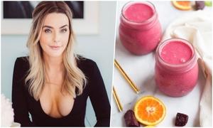 Blogger người Mỹ chia sẻ công thức detox bằng nước ép trong 3 ngày