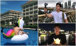 Chàng trai Hàn Quốc thích thú khi du lịch Hội An - Đà Nẵng