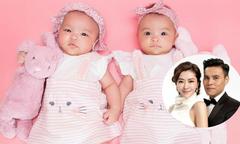 Tình cũ Quách Phú Thành khoe cặp sinh đôi