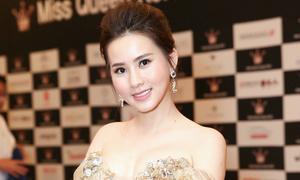 Á hậu Duyên Trần khoe dáng trên thảm đỏ Miss Supranational Vietnam
