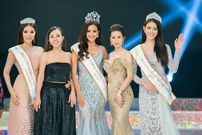 Á hậu Duyên Trần khoe dáng trên thảm đỏ Miss Supranational Vietnam 2018 - 5