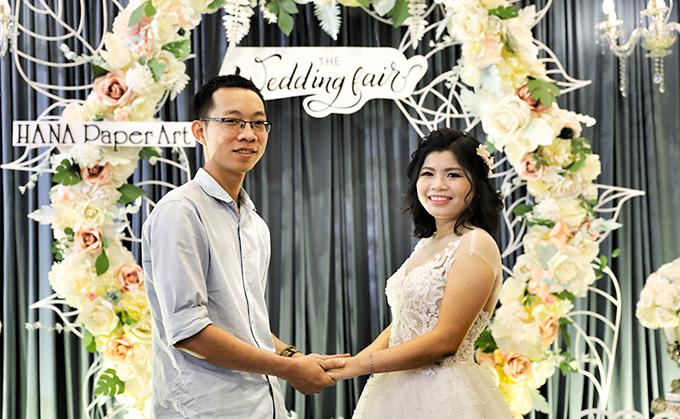 Đông đảo cặp đôi trẻ tham dự Triển lãm cưới 2018 - 11