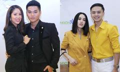 Vợ chồng Lê Phương, Tú Vi cùng dàn sao dự Triển lãm cưới Ngôi Sao