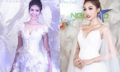 Những mẫu váy cưới kết hoa của NTK Vĩnh Thụy tại Triển lãm cưới Ngôi Sao