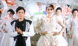 NTK Phan Quốc An đem những mẫu váy thời thượng đến Triển lãm cưới Ngôi Sao
