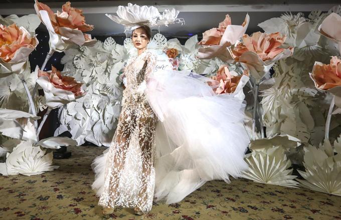 NTK Phan Quốc An đem những mẫu váy thời thượng đến Triển lãm cưới Ngôi Sao - 3