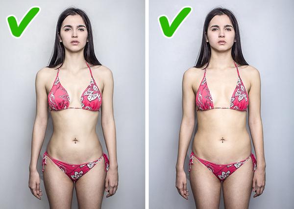 Một chút mỡ thừa ở bụng 90% đàn ông được hỏi đều cho rằng, họ không để tâm tới việc người phụ nữ của họ có một chút mỡ thừa ở bụng, miễn là họ giữ được được cong cơ thể. Vì vậy, phái đẹp hãy tự tin hơn với bản thân mình cho dù bạn không có được chiếc bụng phẳng lỳ như người mẫu.