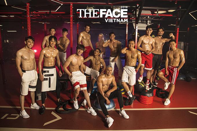 Bên cạnh các mỹ nam quen thuộc như Trương Thanh Long, Huy Quang, Đàm Quang Phúc, Nhicolai Đinh... dàn thí sinh nam xuất hiện nhiều gương mặt triển vọng.