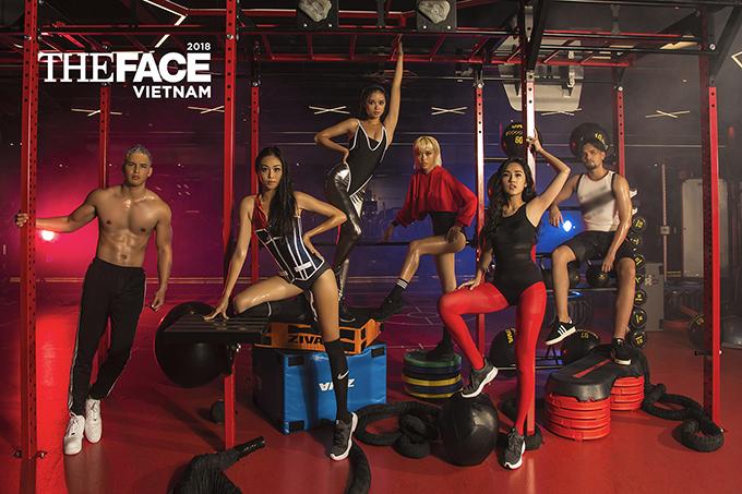 Chương trình Gương mặt Người mẫu Việt Nam  The Face Vietnam 2018sẽ được phát sóngvào tối chủ nhật hàng tuần trên kênh VTV9.