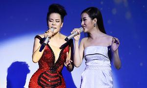 Thu Phương đưa học trò đi hát sau khi trắng tay tại The Voice