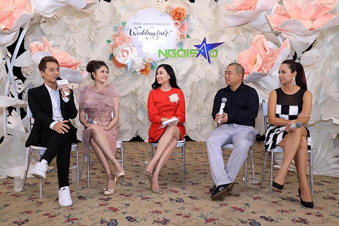 Thủy Anh - Đăng Khôi và Thúy Hạnh - Minh Khang là khách mời tham gia chia sẻ câu chuyện tình yêu, hôn nhân trong Triển lãm cưới Ngôi Sao ngày 26/8.