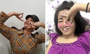 Mai Phương, Thanh Hằng thích thú với trào lưu Dele Challenge