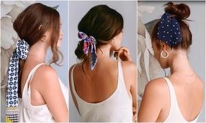 5 cách tạo kiểu tóc đẹp với khăn bandana