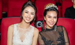 Hoa hậu Thu Ngân đọ sắc bên Miss Earth Angelia Ong