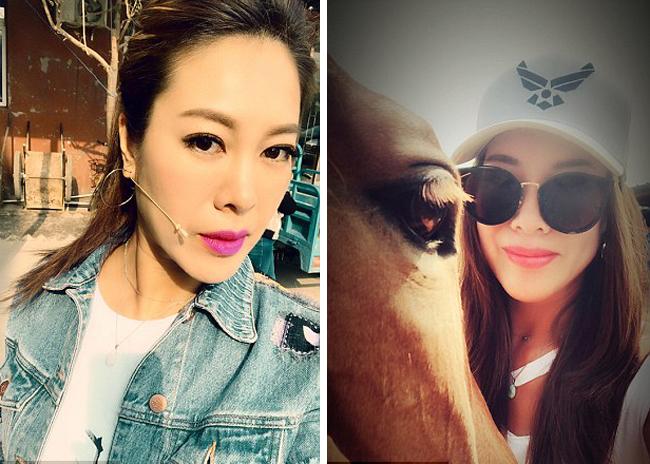 Gương mặt gần như không có nếp nhăn của cô Zhong Xiarong (47 tuổi) ở Bắc Kinh, Trung Quốc. Ảnh: NVCC.
