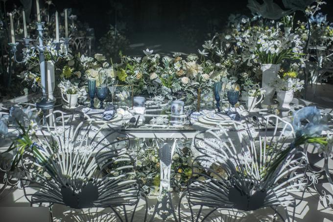 Tiệc cưới tựa khu vườn cổ tích của nữ diễn viên Trương Hinh Dư - 9