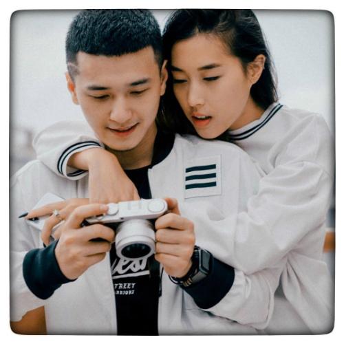 Huỳnh Anh hạnh phúc vì yêu và được yêu.