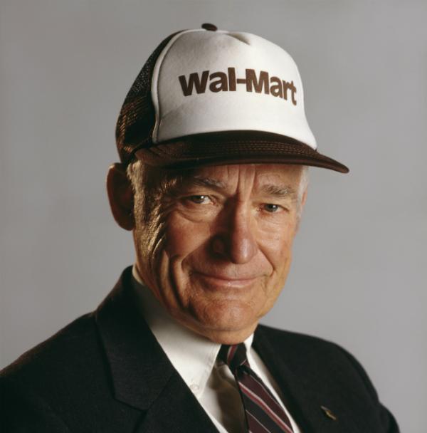 Cố tỷ phú Sam Walton một thời là người giàu nhất hành tinh nhưng sống giản dị. Ảnh: Corbis.
