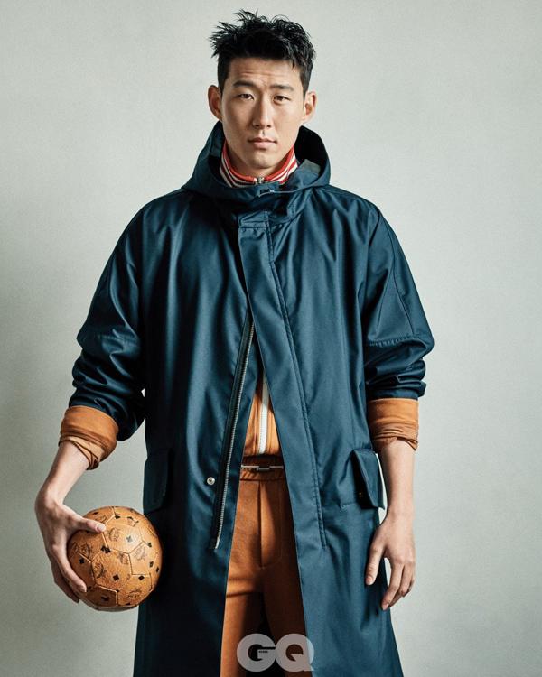Gu thời trang ấn tượng của át chủ bài tuyển Hàn Quốc