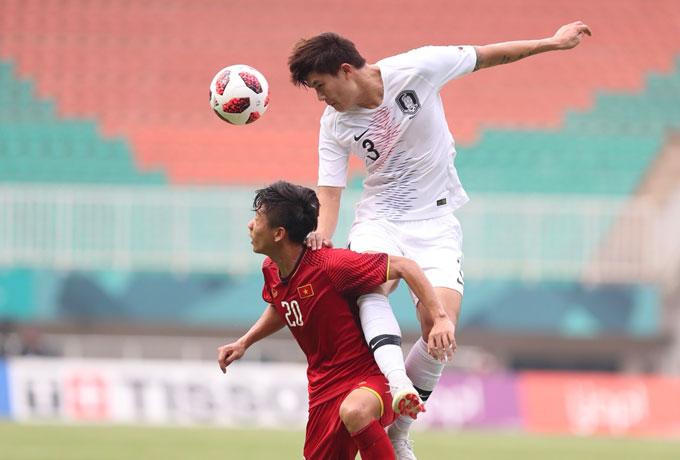 Hàn Quốc khởi đầu thuận lợi với bàn dẫn trước sớm. Ảnh: Đức Đồng.