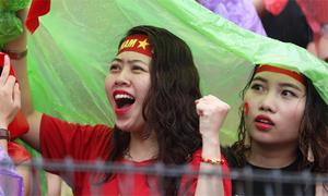 Cổ động viên Việt Nam vẫn tự hào về đội tuyển sau trận thua Hàn