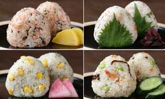 4 món cơm nắm kiểu Nhật tận dụng đồ có sẵn trong tủ lạnh