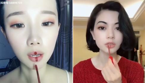 Chiêu thoa son kem đều màu, không lem của các hot girl Trung Quốc