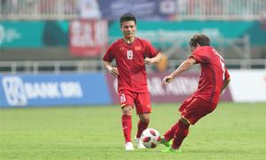 Pha đá phạt giúp Việt Nam rút ngắn tỷ số trận bán kết