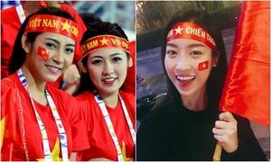 Mẹo tạo kiểu tóc đẹp với băng đô cổ vũ đội tuyển Việt Nam