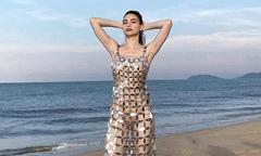 Váy xuyên thấu Hồ Ngọc Hà mặc trong MV mới gây tranh cãi