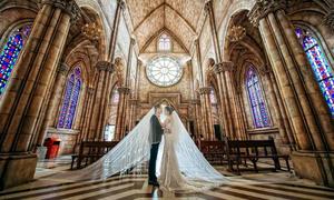 Địa điểm chụp ảnh cưới đẹp như cổ tích tại làng Pháp