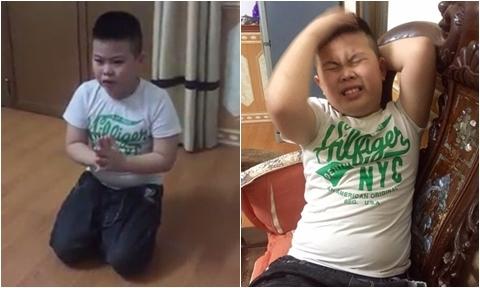 Bé trai 'khấn thần linh' phù hộ cho tuyển Việt Nam chiến thắng