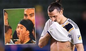 Ibrahimovic bị phạt tiền vì tát vào mặt Lee Nguyễn