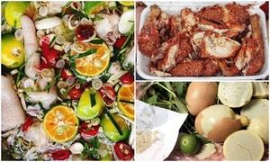 Các món nhắm từ gà cho người ở nhà xem bóng đá Asiad