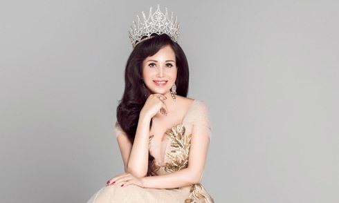 Hoa hậu Diệu Hoa làm giám khảo Người mẫu Quý bà VN 2018