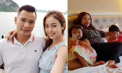 Vợ chồng Jennifer Phạm đưa mẹ và hai con đi du lịch