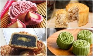 Tự biến tấu 4 loại bánh trung thu nhân ngọt