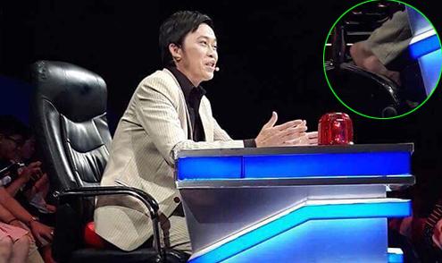 Ảnh hot 31/8: Hoài Linh đi chân đất ghi hình game show