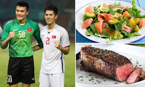 Ba món ăn được HLV Park Hang-seo bổ sung cho các cầu thủ Việt Nam