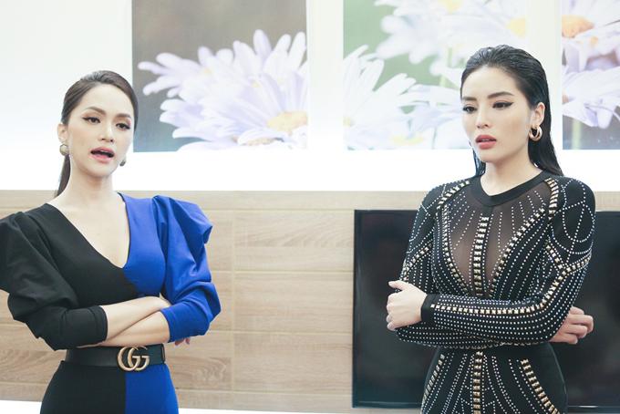 Theo Hương Giang, cô chưa thấyKỳ Duyên thật sự lăn xả và có cảm giác đối thủ của mìnhđang sợ mất hình ảnh của một hoa hậu.