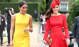 Lý do Kate và Meghan chưa từng mặc đồ màu cam