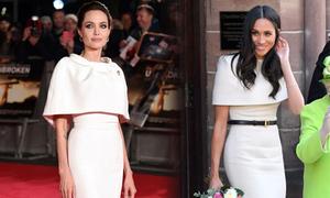 Meghan nhiều lần 'học hỏi' phong cách Angelina Jolie