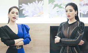 Kỳ Duyên bật khóc khi thua Hương Giang ở thử thách của Siêu mẫu VN