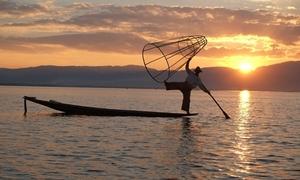 Vũ điệu trên hồ Inle của người Myanmar