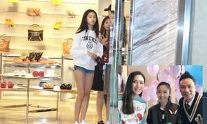 Con gái Nhậm Đạt Hoa cao gần 180 cm ở tuổi 13