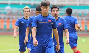 Olympic Việt Nam tới sân chuẩn bị tranh HC đồng Asiad