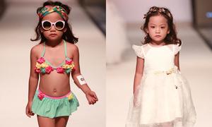 Mẫu nhí Việt sải bước trên sàn diễn Malaysia Fashion Week