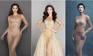 Sao Việt đụng váy tháng 8: Đỗ Mỹ Linh tỏa sáng hơn Hồ Ngọc Hà, H'Hen Niê