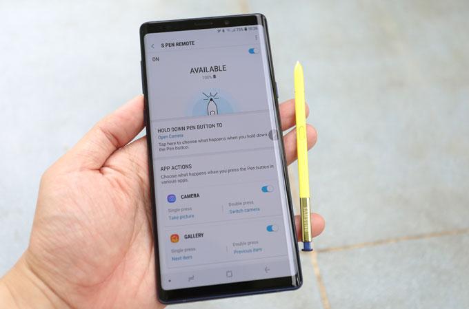 Những tính năng mới thú vị của S Pen trên Galaxy Note 9 - 2